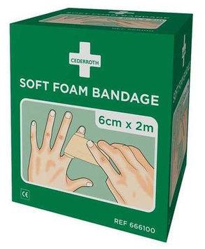 MEDIQUE 666100 Self Adhesive Bandage,6-1/2 Ft, PK2