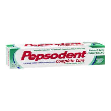 Pepsodent Complete Care Smooth Mint Flavor Toothpaste