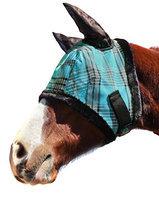 Kensington Protective Fly Mask with Ears - Fleece Trim