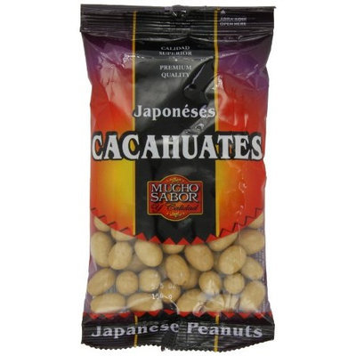 Mucho Sabor, Japoneses Cacahuates, 5.50-Ounce bags (Pack of 6)
