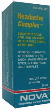Nova Homeopathic Headache Complex 1.7 OZ