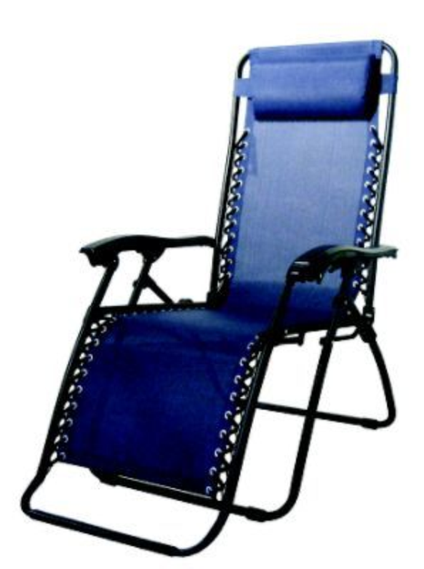 Creed Caravan Canopy Blue Zero-Gravity Chair