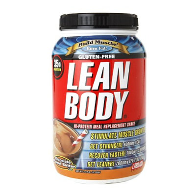 Labrada Nutrition Gluten-Free Lean Body Hi-Protein Meal Replacement Shake Chocolate Peanut Butter