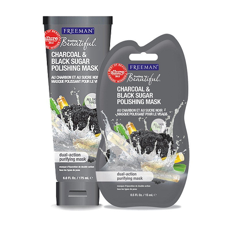 Freeman Beauty Feeling Beautiful™ Charcoal & Black Sugar Polishing Mask
