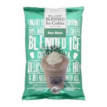 Big Train Blended Iced Coffee - Kona Mocha 3.5 lb Bulk Bag 3.5 lb Bag