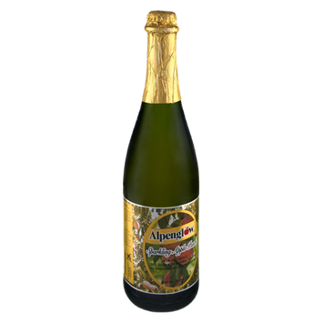 Alpenglow Non-Alcoholic Sparkling Apple Peach Juice