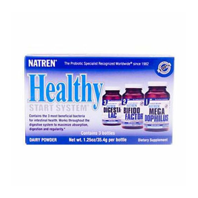 Natren Healthy Start System With Dairy 1 Pack