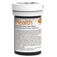 iHealth Lab Inc Wireless Smart Gluco-Monitoring Strips BG5, 50 ea