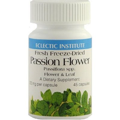 Passion Flower Freeze-Dried Eclectic Institute 45 Caps