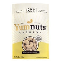 Yumnuts Cashews Honey 5 oz. (Pack of 8)