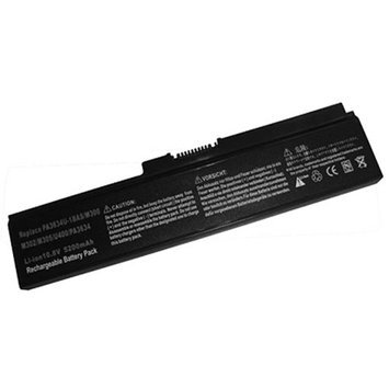EP Memory Replacement Battery for Toshiba Satelite C650, U400, PA3634U Laptop Battery Pros