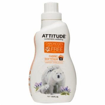 Attitude Fabric Softener, Citrus Zest, 33.8 fl. Oz
