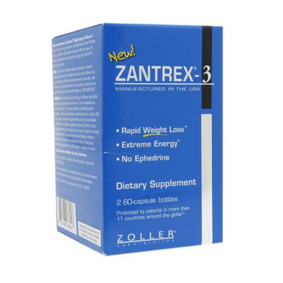 Zantrex-3 Rapid Weight Loss, Extreme Energy 2-Pack, Capsules