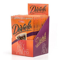 DaViola Original Pizza Peppers, Spicy Ancho, 0.43-Ounce Packages (Pack of 12)