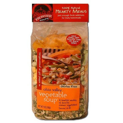 Frontier Soups Hearty Meals Ohio Valley Vegetable Soup, 7-Ounce Bags (Pack of 4)