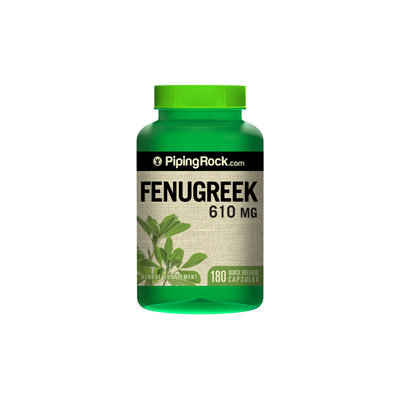 Piping Rock Fenugreek 610mg 180 Capsules