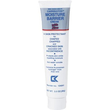 Carrington™ Moisture Barrier Creams with Zinc, 3 1/2 oz, 12/Pack