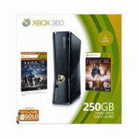 Microsoft Xbox 360 250GB Console Holiday Value Bundle