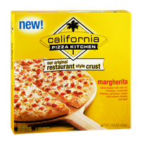 Califormia Pizza Kitchen Original Restaurant Style Crust Margherita Pizza