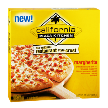 Califormia Pizza Kitchen Original Restaurant Style Crust Margherita Pizza
