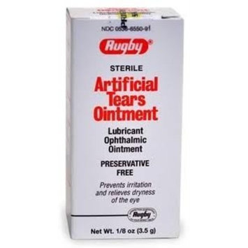 Apexa White Petrolatum & Mineral Oil Lubricant Ophthalmic Ointment (3.5 g)