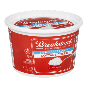 Breakstone's 2% Milkfat Lowfat Cottage Cheese Large Curd