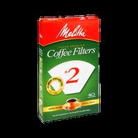 Melitta Super Premium #2 Coffee Filters - 40 CT