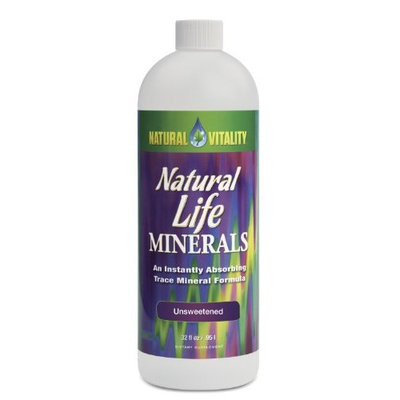 Natural Vitality Natural Life Minerals UnSweetened