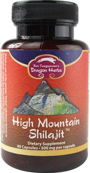 Dragon Herbs High Mountain Shilajit 500 mg - 60 Capsules
