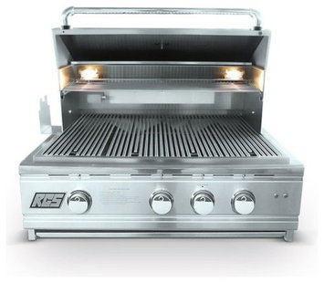 Rcs Gas Grills Pro Series Stainless Steel 30 Cutlass Grill with Blue LED - NG