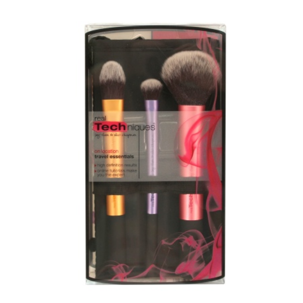 Real Techniques by Sam & Nic Chapman Travel Essentials Brush Set