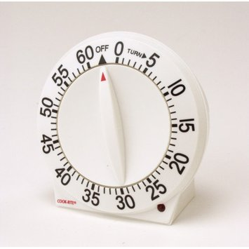 Cook-Rite Quartz 60 Minute Timer (Set of 6)