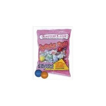 Scripture Candy 546055 Candy Scripture Bubble Gum 6.5Oz Bags
