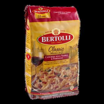 Bertolli® Classic Meal For Two Chicken Alla Vodka & Farfalle