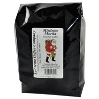 La Crema Coffee Old Santa, Mistletoe Mocha, 2-Pound Package