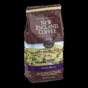 New England Coffee Costa Rican Dark Roast Freshly Ground