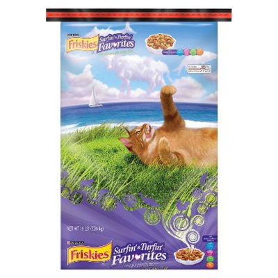 Purina Friskies Friskies Surfin' & Turfin' Favorites Dry Cat Food - 16 lb