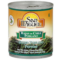 San Miguel Sliced Poblano Peppers