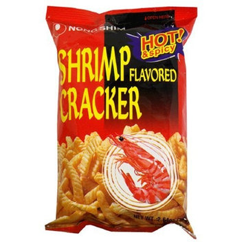 Nong Shim Nongshim Shrimp Cracker Hot 2.64 Ounce Packages (Pack of 30)