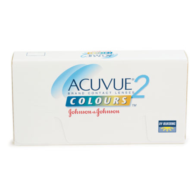 Acuvue 2 Colours Enhancers Contact Lenses 1 Box