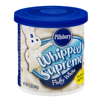 Pillsbury Whipped Supreme Frosting Fluffy White