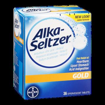 Alka-Seltzer Gold Effervescent Tablets - 36 CT