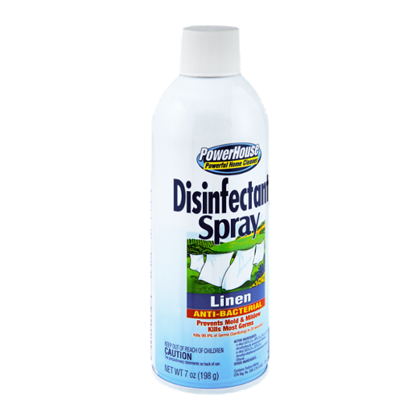 PowerHouse Anti-Bacterial Linen Disinfectant Spray