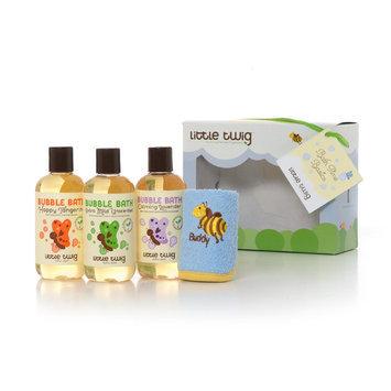 Little Twig Bath Time Bubble Bath Basics Gift Set