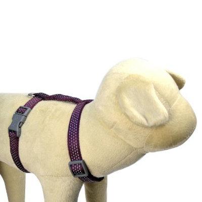 Boots & Barkley Reflective Adjustable Harness S - Purple