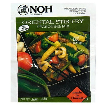 Noh Foods Of Hawaii NOH Oriental Stir Fry, 1.0-Ounce Packet, (Pack of 12)