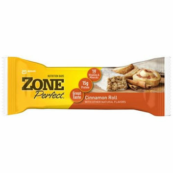 Zone Nutrition Bar Cinnamon Roll Case of 12 1.76 oz