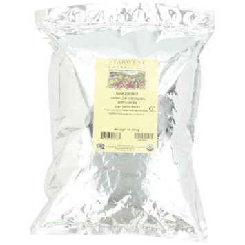 Starwest Botanicals Organic Catnip Leaf & Flower, 1-pound Bag