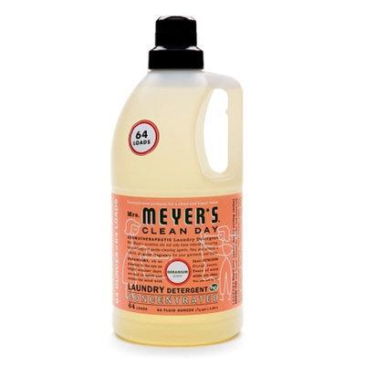 Mrs. Meyer's Clean Day Laundry Detergent Geranium