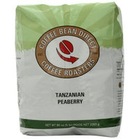 Coffee Bean Direct Tanzanian Peaberry, Whole Bean Coffee, 5-Pound Bag
